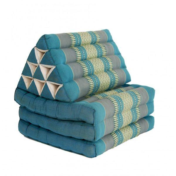 thai-three-fold-triangular-cushion-blue