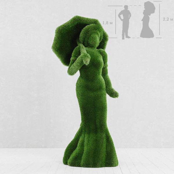 garten-skulptur-frau-mit-regenschirm-topiary-kunststoff-debora (1)