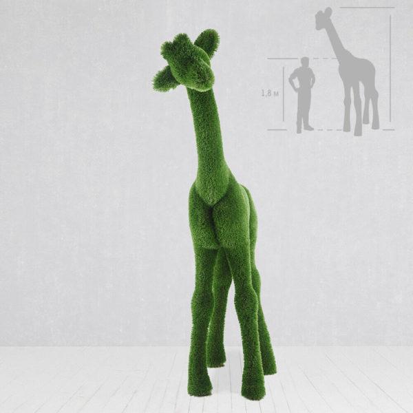 gartenfigur-giraffe-topiary-gfk-kunstrasen-gundula