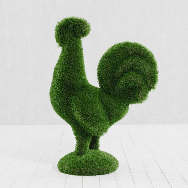 gartenfigur-hahn-aus-gfk-kunstrasen-topiary-helgo_3