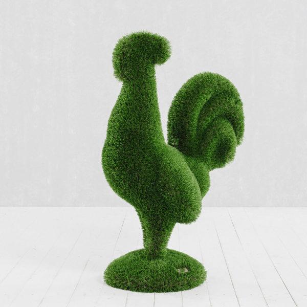 gartenfigur-hahn-aus-gfk-kunstrasen-topiary-helgo_4