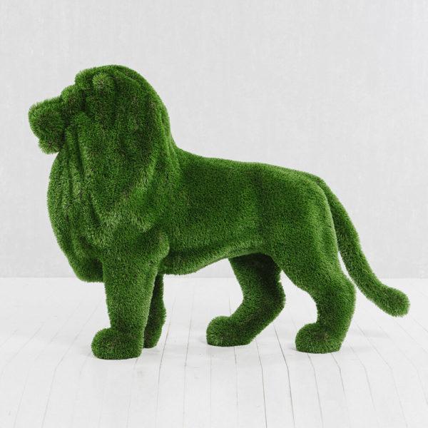 gartenfigur-loewe-stehend-topiary-kunststoff-gruen-mohatu_2