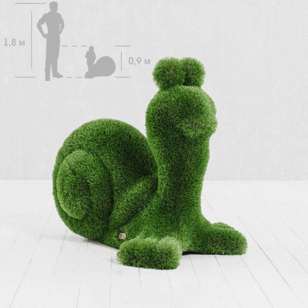 gartenfigur-schnecke-topiary-glasfaserkunststoff-kunstrasen-garry