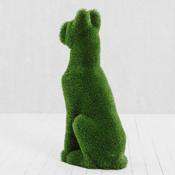 gartenfigur-sitzender-hund-topiary-gfk-kunstrasen-herkol_3