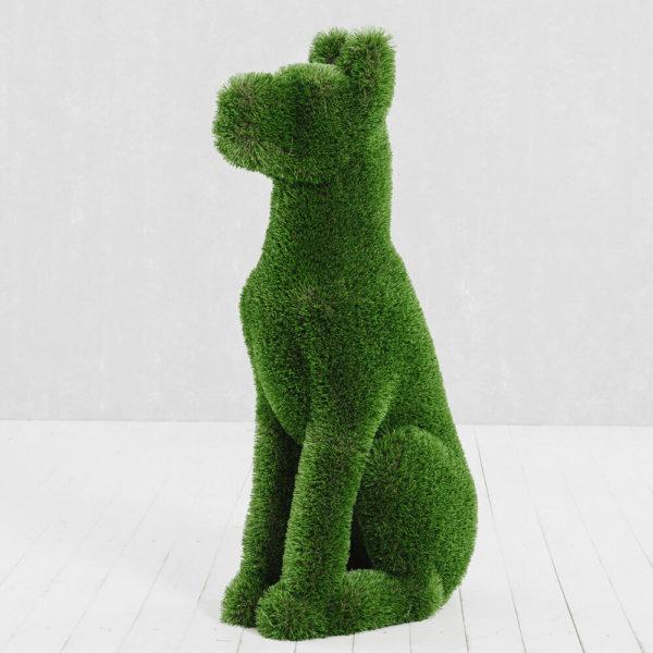 gartenfigur-sitzender-hund-topiary-gfk-kunstrasen-herkol_5