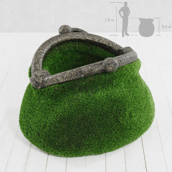 gartenplastik-geldboerse-topiary-gfk-kunstrasen-pecunia