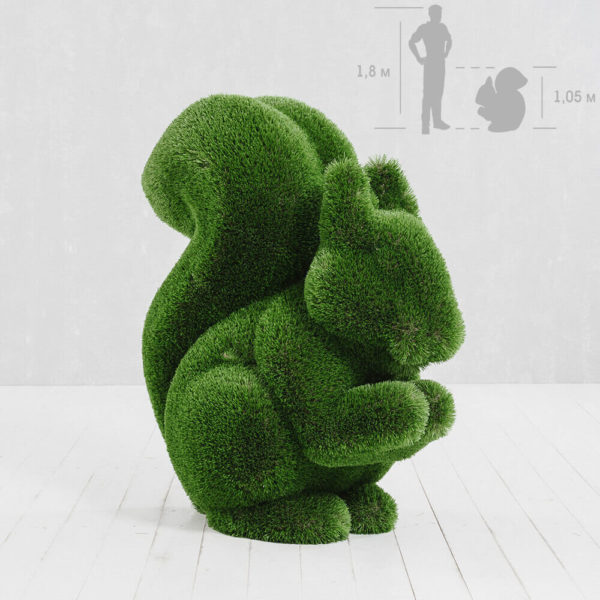 gartenskulptur-eichhoernchen-topiary-gfk-kunstrasen-sansibar