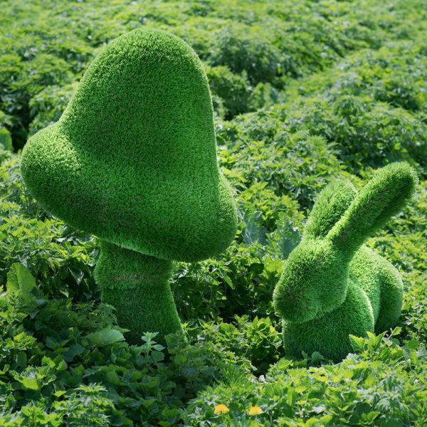 grosse-gartenfigur-pilz-gfk-kunstrasen-topiary-felino_3