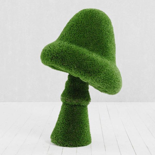 grosse-gartenfigur-pilz-gfk-kunstrasen-topiary-felino_6