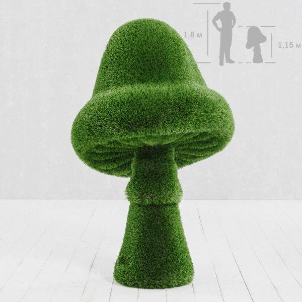 grosse-gartenfigur-pilz-gfk-kunstrasen-topiary-felino_8