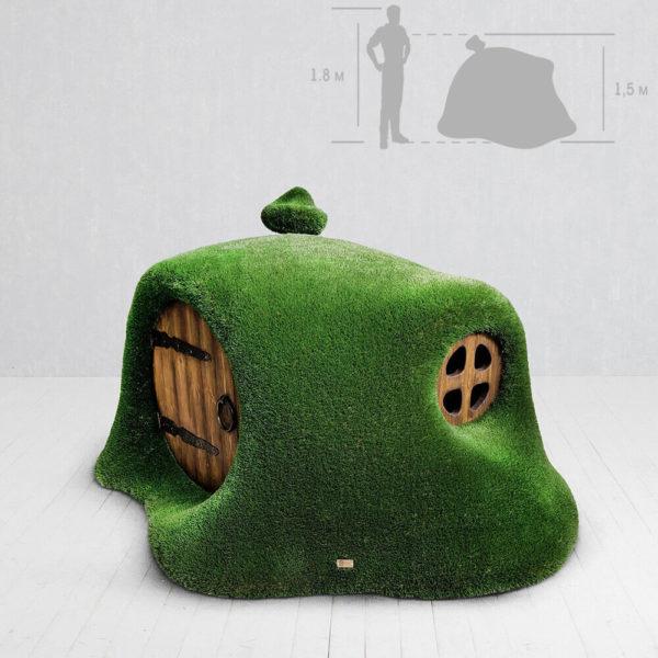 haus-im-huegel-gartenplastik-topiary-gfk-kunstrasen-hobbit-house