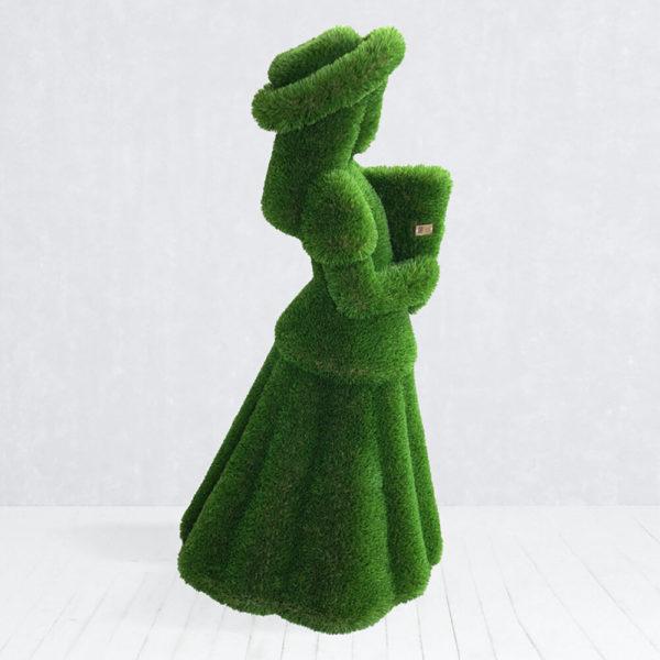 lebensgrosse-gartenfigur-maedchen-mit-blumen-topiary-daike_2