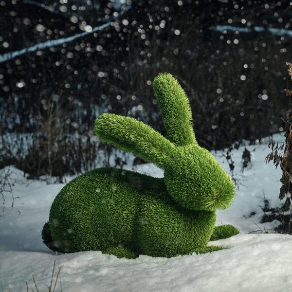 liegender-hase-als-gartenfigur-topiary-kunststoff-hilka