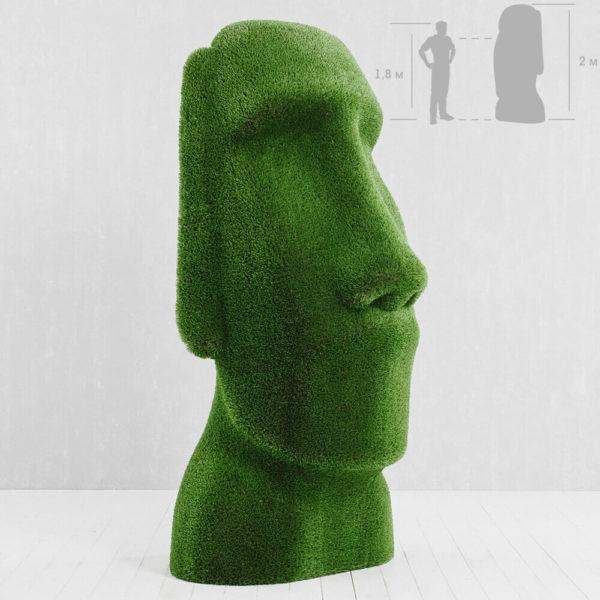 moai-kopf-gartenfigur-topiary-gfk-kunstrasen-idukan_3