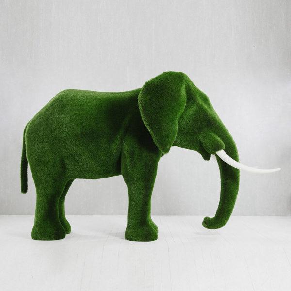 riesige-elefantenskulptur-topiary-kunststoff-gruen-winifred_2