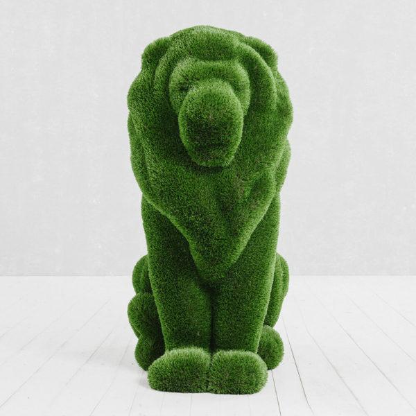 sitzende-loewenskulptur-topiary-gfk-kunstrasen-ahadi_2