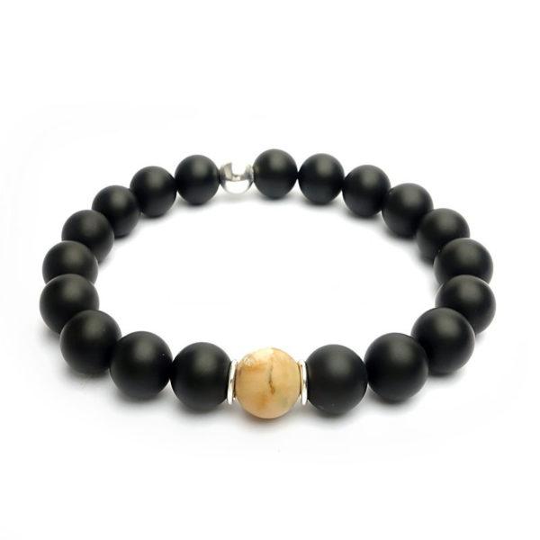 bracelet-homme-en-onyx-et-bois-fossile-pierres-mates
