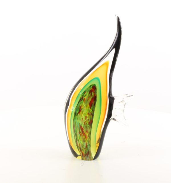 Murano glass sculpture of an angelfish1